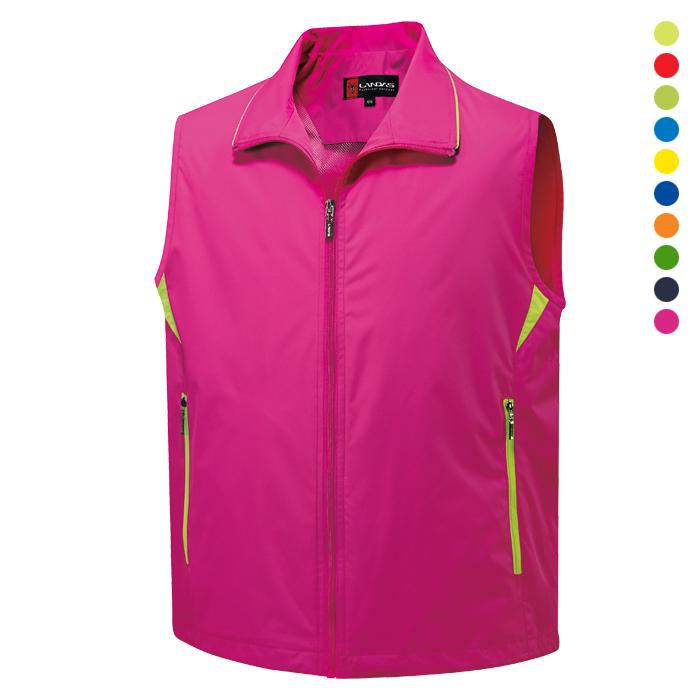 LD600 - 핑크 이벤트 조끼 [제작 대량 도매 로고 인쇄 레이저 마킹 각인 나염 실크 uv 포장 공장 문의는 네이뽕]